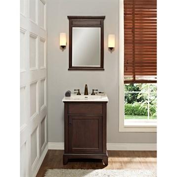 Fairmont designs 24 smithfield vanity mink free shipping modern bathroom Modern bathroom north hollywood