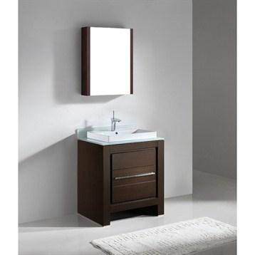 """Madeli Vicenza 30"""" Bathroom Vanity, Walnut B999-30-001-WA by Madeli"""