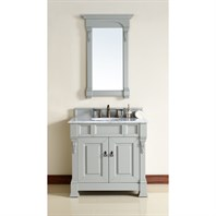 "James Martin 35"" Brookfield Single Cabinet Vanity - Urban Gray 147-114-5591"