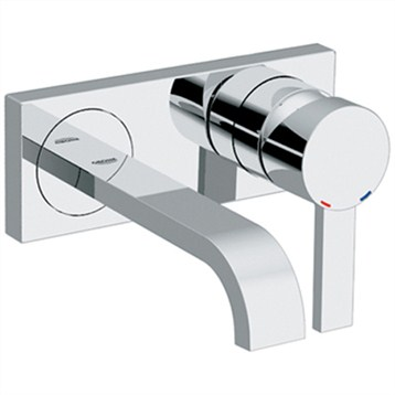 Grohe Allure 2-Hole Wall Mount Vessel Trim, Starlight Chrome by GROHE