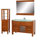 "Daytona 55"" Bathroom Vanity Set - Cherry A-W2109-55-CH-SET"