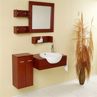 Fresca Stile Modern Bathroom Vanity with Mirror & Side Cabinet FVN3520