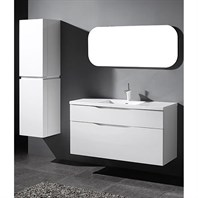"Madeli Bolano 48"" Single Bathroom Vanity for Integrated Basin - Glossy White B100-48C-022-GW"