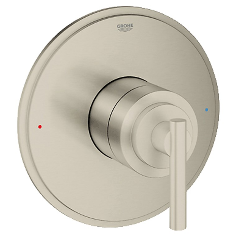 Grohe Atrio Single Function Pressure Balance Trim with Control Module - Brushed Nickel GRO 19866EN0