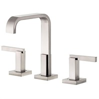 Danze® Sirius™ Trim Line Widespread Lavatory Faucets - Brushed Nickel