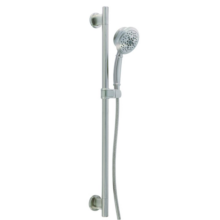 "Danze Versa 30"" Slide Bar Assembly w/ 5 Function Surge Handshower 2.0gpm - Brushed Nickel D461724BN"