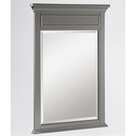 "24"" Smithfield Mirror Medium Gray 1504-M24"