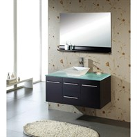 "Virtu USA Marsala 48"" Single Sink Bathroom Vanity - Espresso MS-420"