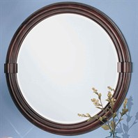 "Fairmont Designs 32"" Traditional Collection Victoria Mirror - Dark Cherry"