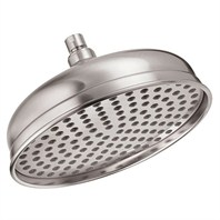 "Danze® 10"" Antique Bell Showerhead - Brushed Nickel"