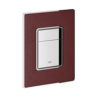Grohe Skate Cosmopolitan Leather Dual Flush Wall Plate - XM0 GRO 38914XM0