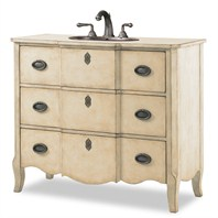 "Cole & Co. 43"" Designer Series Collection Wayfarer Linen Vanity - Warm Linen 11.24.275543.26"