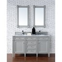 "James Martin 60"" Brittany Double Cabinet Vanity - Urban Gray 650-V60D-UGR"