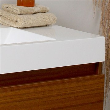 Bathroom Vanities Orange County on Fresca Mezzo Teak Modern Bathroom Vanity With Medicine Cabinet   Free