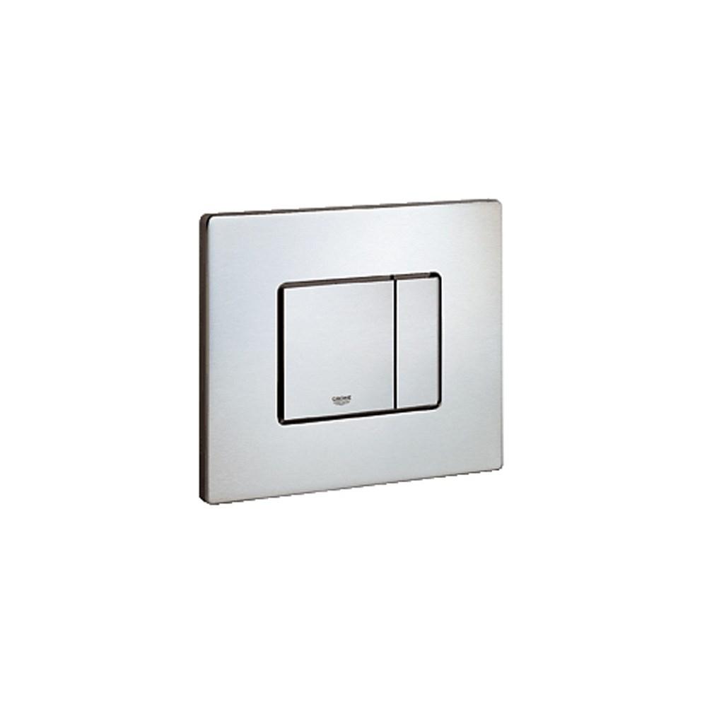 Grohe Skate Cosmopolitan, Dual Flush Wall Plate - Stainless Steelnohtin Sale $110.99 SKU: GRO 38776SD0 :