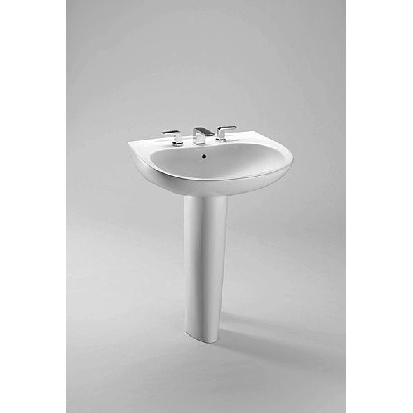 TOTO Prominence Pedestal Lavatory with Pedestal w/ CeFiONtectnohtin Sale $342.00 SKU: LPT242G :