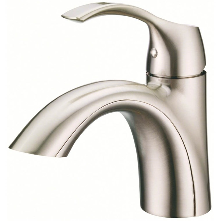 Danze Antioch 1H Lavatory Faucet Single Hole Mount w/ 50/50 Touch Down Drain 1.2gpm - Brushed Nickel D222522BN