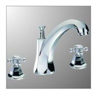 London 6 Bathroom Faucet - Chrome