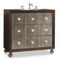 "Cole & Co. 36"" Designer Series Collection Celebrity Sink Chest - Dark Kona 11.24.275536.13"