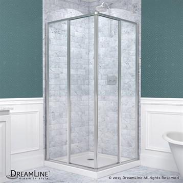 Bath Authority DreamLine CornerView Shower Enclosure by Bath Authority DreamLine