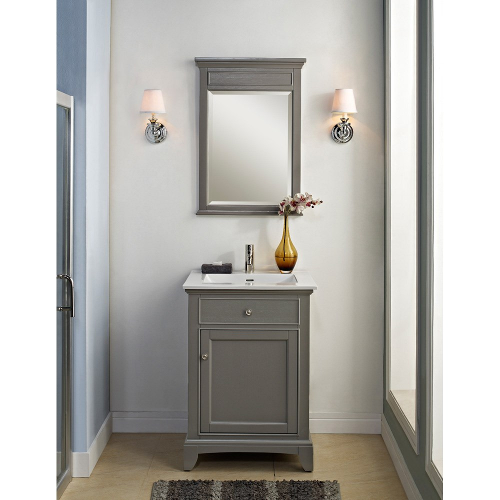 "Fairmont Designs 24"" Smithfield Vanity - Medium Graynohtin"