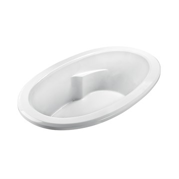 """MTI Basics Bathtub, 69.25"""" x 41.75"""" x 21.125"""" MBODI7042 by MTI"""