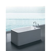 Aquatica PureScape 327B Freestanding Acrylic Bathtub - White Aquatica PS327B