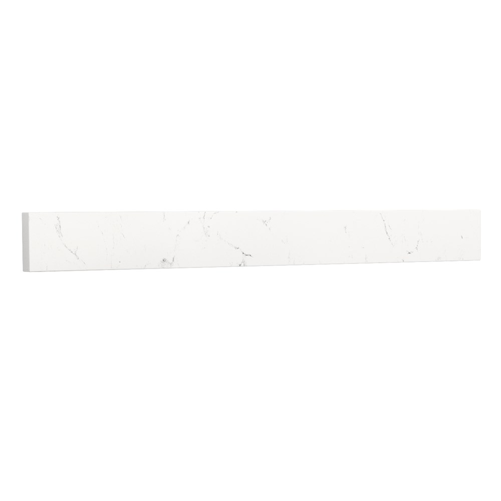 "Replacement 30"" Backsplash - Light-Vein Carrara Cultured Marble REPL-WC-VCA-30-BS-CC2"