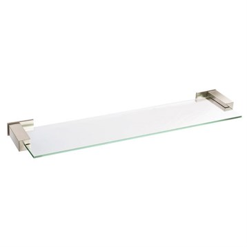 danze sirius glass shelf 24 brushed nickel free. Black Bedroom Furniture Sets. Home Design Ideas