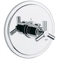 Grohe Atrio Thermostat Trim - Starlight Chrome