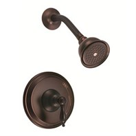 Danze Fairmont Trim Only Single Handle Pressure Balance Shower Faucet - Tumbled Bronze D501540BRT