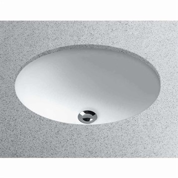 Toto Undercounter Lavatory 15x12 Oval LT577 by Toto