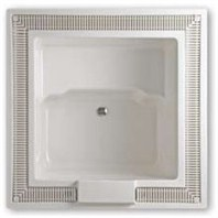 "Americh Beverly 4848 Vista Tub (57"" x 57"" x 30"") BV4848V"