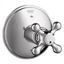 Grohe Seabury 3-Port Diverter Trim - Sterling Infinity Finish