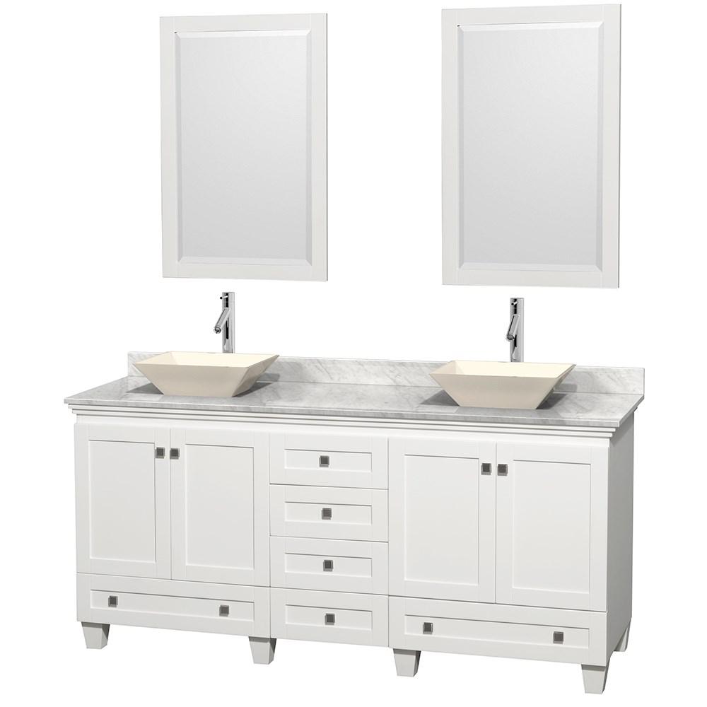 Acclaim 72 Double Bathroom Vanity For