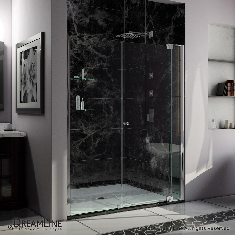 "Bath Authority DreamLine Allure Shower Door (60""-67"")"
