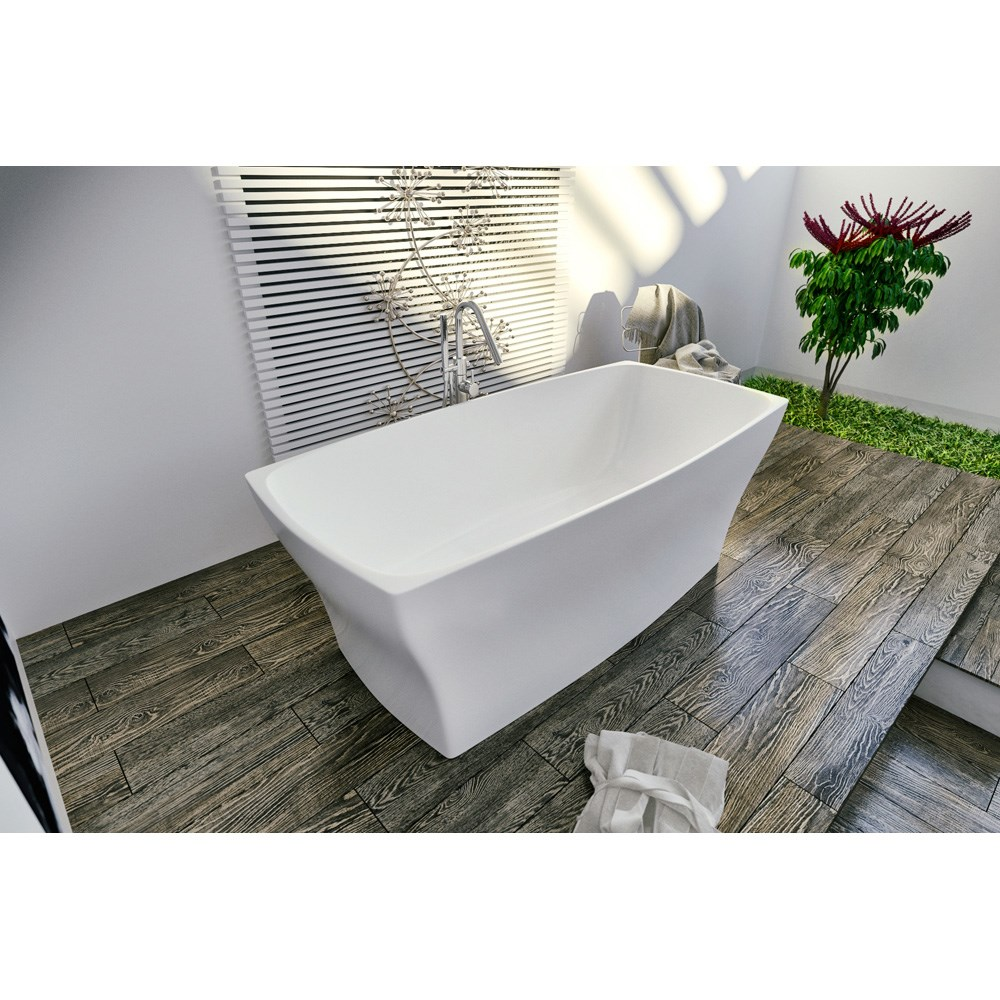 Aquatica Elise-Wht Freestanding Solid Surface Bathtub - Matte Whitenohtin Sale $3995.00 SKU: Aquatica Elise-Wht :