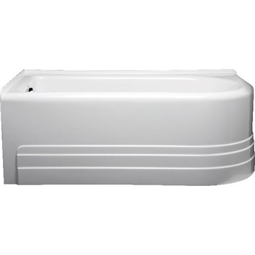 "Americh Bow 6632 Left Handed Tub, 66"" x 32"" x 21"" BO6632L by Americh"