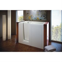 "MTI Basics Walk-In Tub (51.25.5"" x 30.25"" x 37.5"") MBWI5030"