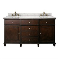 "Avanity Windsor 60"" Vanity Only - Walnut AVA11401-60-WAL-"