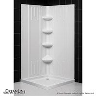 Bath Authority DreamLine QWall-2 Shower Backwalls Kit SHBW-1241720-01