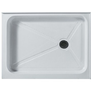 Vigo 32 x 40 Rectangular Shower Tray White VG06019WHT3240 by Vigo Industries