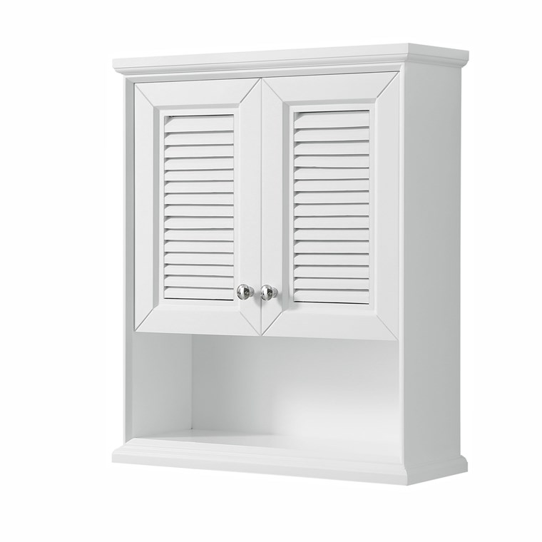 Tamara Over-Toilet Wall Cabinet by Wyndham Collection - White WC-2121-WC-WHT