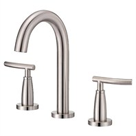 Danze® Sonora™ Trim Line Widespread Lavatory Faucets - Brushed Nickel