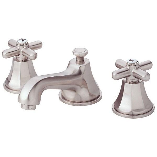 Danze® Brandywood™ Widespread Cross Handle Lavatory Faucets - Brushed Nickelnohtin Sale $452.25 SKU: D304966BN :