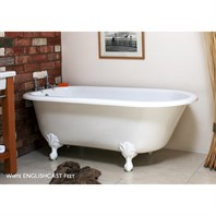 Wessex Clawfoot Bathtub by Victoria and Albert WES-N-SW + (CS2380)