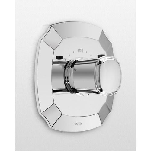 TOTO Guinevere® Thermostatic Mixing Valve Trimnohtin Sale $145.60 SKU: TS970T :