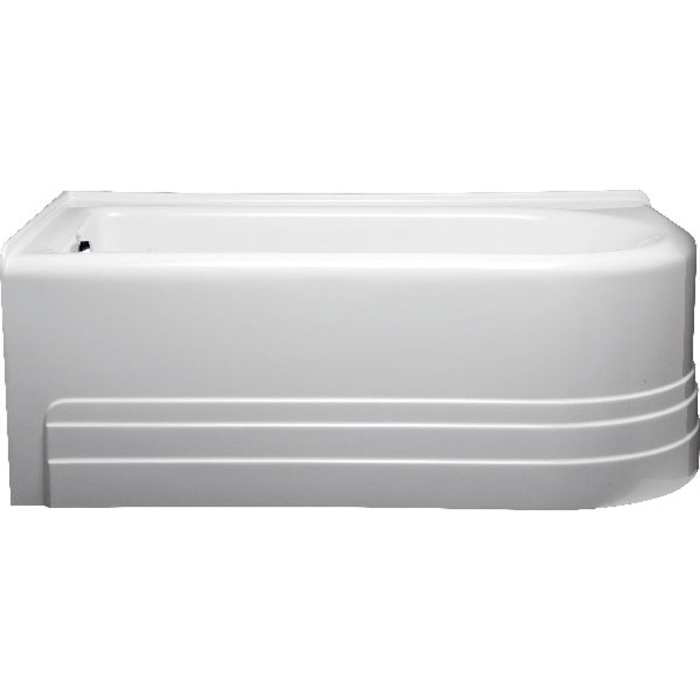 "Americh Bow 6632 Left Handed Tub (66"" x 32"" x 21"")"
