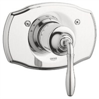 Grohe Seabury Thermostat Trim with Lever Handle - Infinity Brushed Nickel