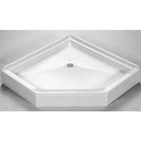 "MTI MTSB-38NA Shower Base (37.5"" x 37.5"")"